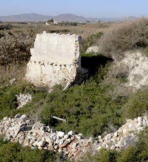 Ruinas del Molino Bayoneta, también conocido como del Sastre.